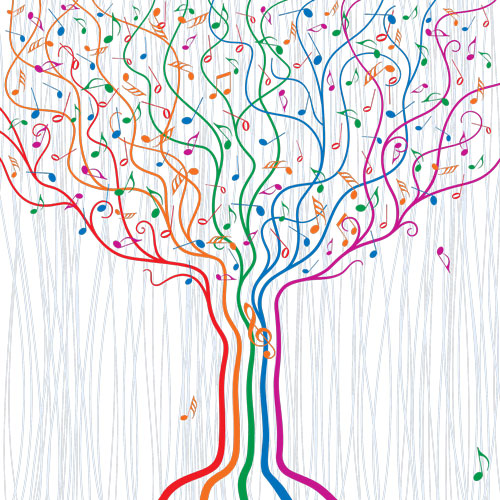 Musical tree image